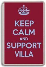 KEEP CALM AND SUPPORT VILLA, ASTON VILLA FOOTBALL TEAM Fridge Magnet