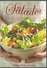 Idees salades. Entrees - Plats - Desserts.Maximo SV3