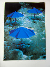 Christ & Jean-Claude The Umbrellas Project Japan Side Blue Color 1 17x12