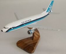 A-300 Airbus Cruzeiro Air A300 Airplane Mahogany Kiln Dry Wood Model Small New