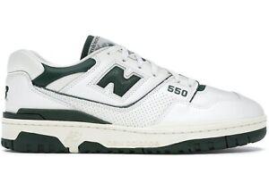 New Balance 550 White Green BRAND NEW Size 9