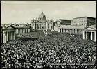 cartolina ROMA piazza s.pietro-proclamazione del dogma dell'assunzione