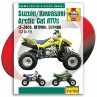 2004-2008 Artic Cat DVX400 Haynes Repair Manual 2910 Shop Service Garage