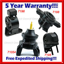 M235 Fits 2011-2013 Kia Sorento 2.4L 3.5L 4WD Engine Motor & Trans Mount Set 4pc