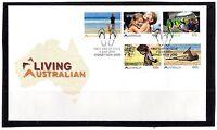 2011 Australia Living Australia Set of 5 FDC, Mint Condition