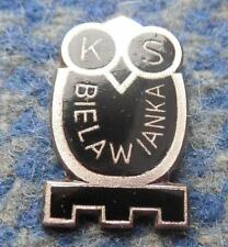 BIELAWIANKA BIELAWA POLAND FOOTBALL WRESTLING VOLLEYBALL 1960's RARE PIN BADGE