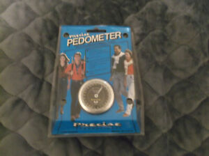 Precise Pedometer In Original Packaging vtg Easy to Use! Hip/Belt clip USA MADE