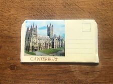 Set 6 colour Photographs Postcard Letter Card Canterbury Kent Photo Photos