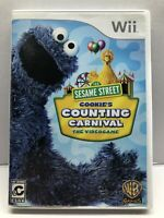 Sesame Street Cookie's Counting Carnival - Nintendo Wii - Clean & Tested