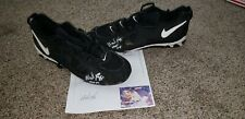 WADE BOGGS NEW YORK YANKEES GAME USED AUTOGRAPH CLEATS HOF MLB ALL STAR
