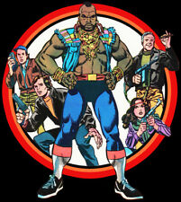 80's TV Classic The A-Team Comic Cover Art custom tee Any Size Any Color