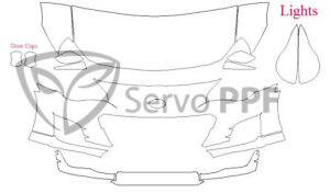 17+ Subaru BRZ Glossy Clear Bra Full Kit Ventureshield Ultra by 3M