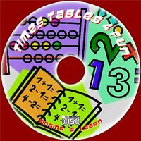 TEACH KIDS TIMES TABLES FUN LEARN & SING 2X-12X TABLES EASY SING ALONG AUDIO CD