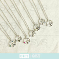 BTS BT21 Official Authentic Goods Silver Necklace Ver 2 by OST + Tracking Number