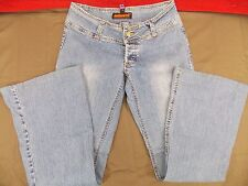Dollhouse Blue Jeans and Rock & Roll Distressed Stretch Women's Size 3