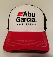 New Abu Garcia Reels Rods Cap Hat Adjustable Red Black White Free Shipping