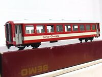 Bemo H0m 3266 218 Personenwagen 2. Kl. B 4268 Furka-Oberalp OVP (TR9038)