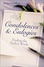 Condolences & Eulogies: Finding the Perfect Words