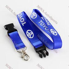 For TOYOTA Lanyard Keychain Quick Release SUPRA CELICA AE86 COROLLA - BLUE
