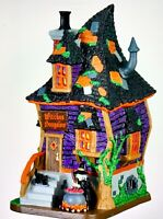 Lemax Spooky Town WITCHES BUNGALOW #75183 BNIB Illuminated Building