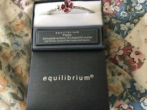 Equilibium Poppy Braclet New in Box