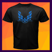 Pontiac Trans Am Firebird Blue Logo NEW Black Men's T-Shirt S M L XL 2XL