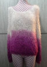 Wool Boat Neck Medium Solid Jumpers & Cardigans for Women