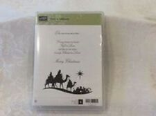 Stampin Up COME TO BETHLEHEM nativity silhouette wise men christmas holiday