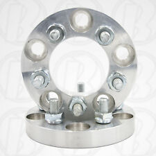 """Two 5 Lug 100mm To 5 x 100mm Wheel Adapters / 1"""" Spacer"""