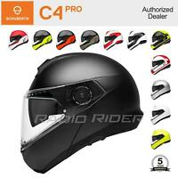 NEW Schuberth C4 PRO Motorcycle Flip-Up Helmet   All Sizes & Colors   Free Ship