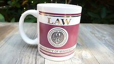 UNIVERSITY OF MINNESOTA LAW SCHOOL COFFEE MUG