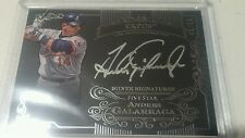 2015 Topps Five Star on-card Silver Signatures auto Andres Galarraga 45/50 Expos