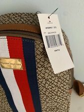 Tommy Hilfiger Brown Monogram Jacquard Back