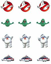Ghostbusters Edible Party Image Cupcake Topper Frosting Icing Sheet Circles