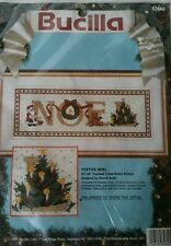 Bucilla Festive Noel Counted Cross stitch Nip