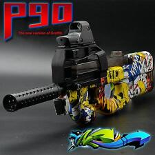 Water Gun Soft Bullet Stylish Graffiti Edition Plastics Outdoor Games Electronic