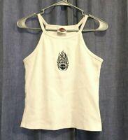 2002 Harley Davidson Stone Mountain Ga Women's Tank Top White Medium M Shirt