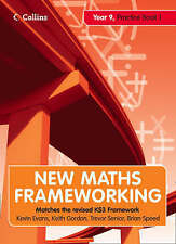 Very Good, New Maths Frameworking – Year 9 Practice Book 1 (Levels 4–5): Practic