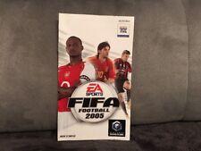 Notice Mode D'emploi Fifa Football 2005 Nintendo Gamecube GC