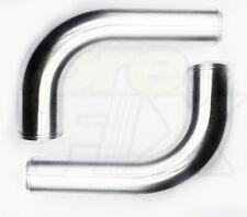 "2pcs 2.75"" Inch OD 90 Degree L-Bend Universal Aluminum Intercooler Intake Pipe"