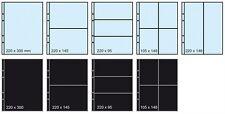 Confezione 10 fogli per banconote cartoline Formato A4 Masterphil VIP K211 Trasp
