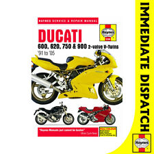[3290] Ducati 600 620 750 900 2-Valve Twins 1991-2005 Haynes Workshop Manual