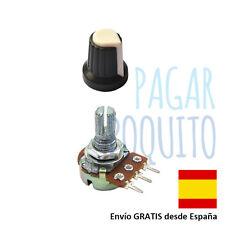 Embellecedor boton 6mm potenciometro 10K B10k Arduino electronica prototipo diy