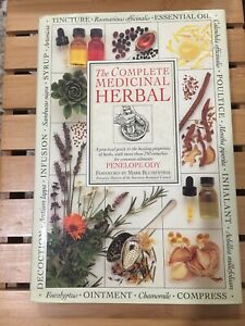The Complete Medicinal Herbal by Penelope Ody, illustrated full color FREE SHIP