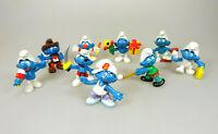 9 Figuren Die Schlümpfe Smurf Sammelfiguren Peyo Schleich