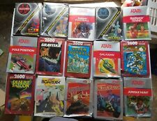 15  NEW Factory Sealed W/Crushed or Damaged boxes Unused Atari 2600 Games M67