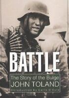 Battle,The Story of the Bulge-John Toland Paperback World War 2, The Ghost Front