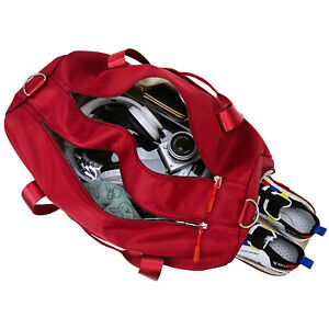35L Sport Duffle Bag Dry Wet Separated with Shoes Cubicle f Travel Swimming Yoga