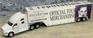 Custom 1/64th Kenworth T700 Taylor Swift 2018 Reputation Tour Merch Truck 3