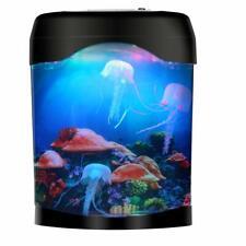 LED Jellyfish Lava Lamp, USB Jellyfish Lamp Electric Aquarium Tank Mood Night